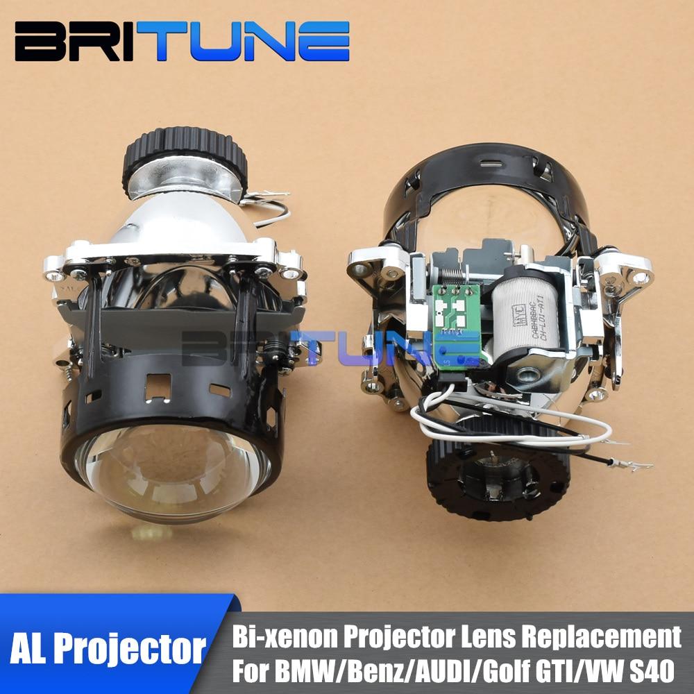 For Audi A1 A3 S3 A4 S4/ BMW E46 X5M E70 E90 E92/Benz W203 C160 MK4 MK5 Headlight AL D2S HID Bi-Xenon Projector Lens Replace цены