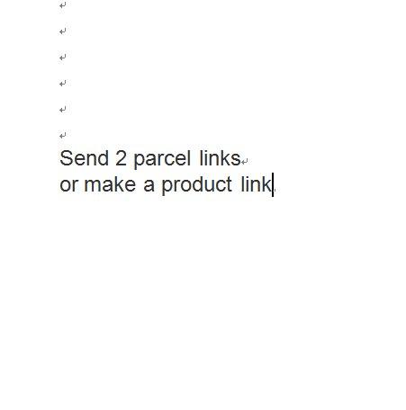 Отправить 2 участка ссылки, или сделать ссылку на продукт
