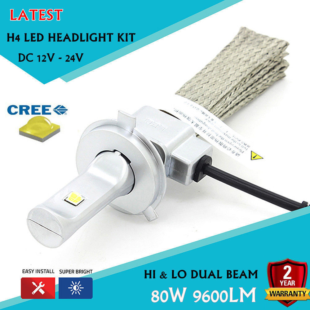 Latest Car CREE-XHP50 Chips LED Headlight Kit H4 9003 Hi/Lo 6000K 80w 9600LM With Red Copper Belt Heat Dissipation(H7 9007 9005) 1 pair dc 9 36v h4 cob 80w led car headlight kit hi lo beam bulbs 6000k