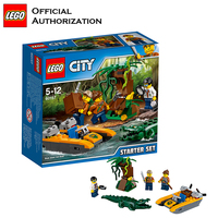 Tobay Starter Set Lego City Series Forest Exploration Toys Building Blocks Funny Children Toy Compatible with lego backplane