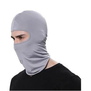 Image 3 - FORAUTO COM מלא פנים מסכת מגן חיצוני ספורט כיסויי ראש פה כיסוי חיצוני אופני סקי לנשימה אבק הוכחה Windproof מסכה