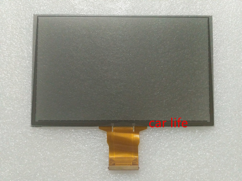 60 pins 8 inch Black glass touch Screen panel Digitizer Lens for Edge SYNC3 car DVD