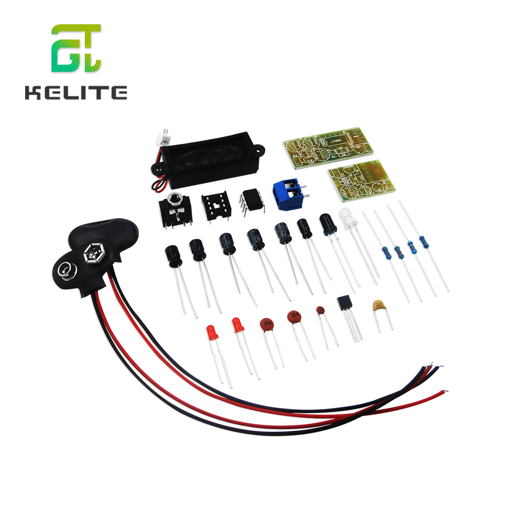 ICSK054A DIY Kit Suite Electronic Production Infrared Wireless Module WIFI IR Sound Voice Infrared Transmission 5SET