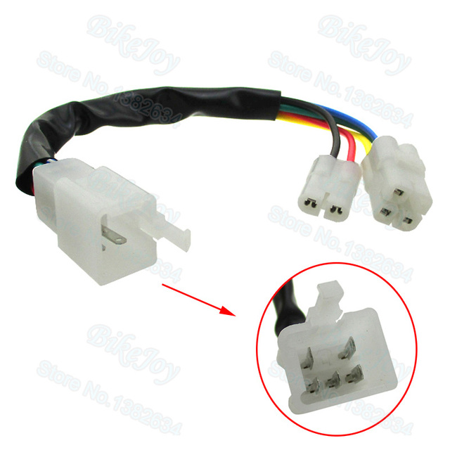 cdi cable wire adapter connector plug for scooter moped pit dirt rh aliexpress com 110Cc Pit Bike Pit Bike Parts