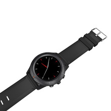 Business Stil Runden Bildschirm Android SmartWatch Herz Bewertet Reloj Inteligente Handyuhr Multifunktions