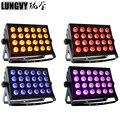 Бесплатная доставка 4 шт./лот 24x18 Вт RGBWA UV 6IN1 широкий светодиодный настенный светильник