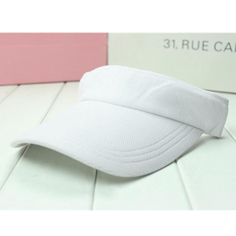 All Season Solid Cotton Cap Snapback Caps Sunscreen Hats Van Hat Tennis Cap Movement Without Overhead Top Hat Visor Cap