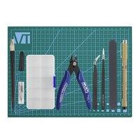 7Pcs Gundam Model Tools Kit Modeler Basic Tools Craft Set Hobby Building Tools Kit