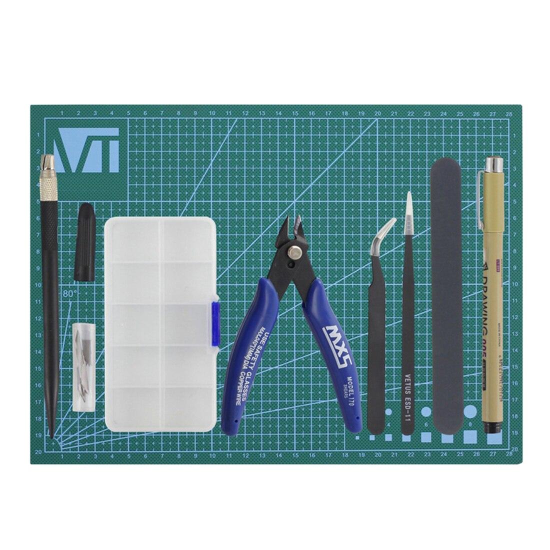7Pcs for Gundam Model Tools Kit Modeler Basic Tools Craft Set Hobby Building Tools Kit