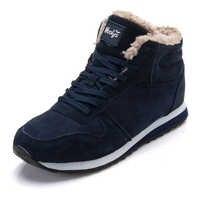 Männer Schuhe 2019 Winter Schuhe Männlichen Turnschuhe Warme Pelz Innen Paar Schuhe Schwarz Blau Männer Casual Schuhe Größe 48 Chaussure homme