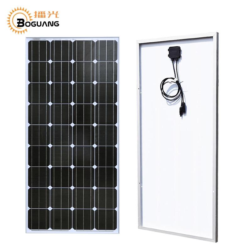 18 Boguang 100 Watts Painel Solar de Silício Monocristalino 1175 v * 530*25mm Compartimento Da Bateria Do Sistema/Home carregador de energia Solar Modul