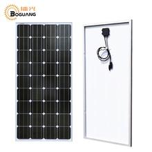 Boguang 100 ватт монокристаллическая солнечная панель кремния 18 в 1175*530*25 мм батарейный отсек системы/домашнее солнечное зарядное устройство Modul