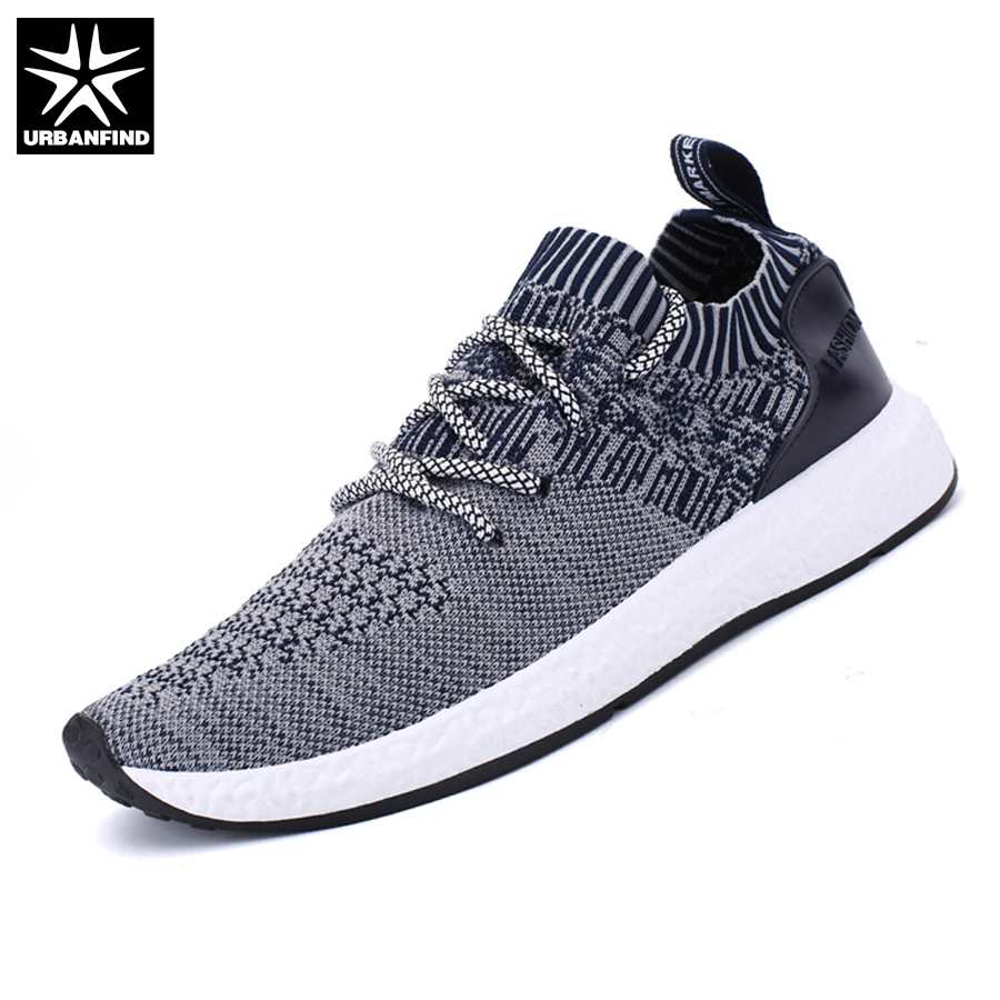 266d38aee URBANFIND Spring Summer Shoes Men Fashion Casual Footwear Plus Size 38-46  Designer Man Lace-up Brand Shoes