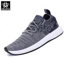 URBANFIND Spring Summer Shoes Men Fashion Casual Footwear Plus Size 38-46 Designer Man Lace-up Brand Shoes