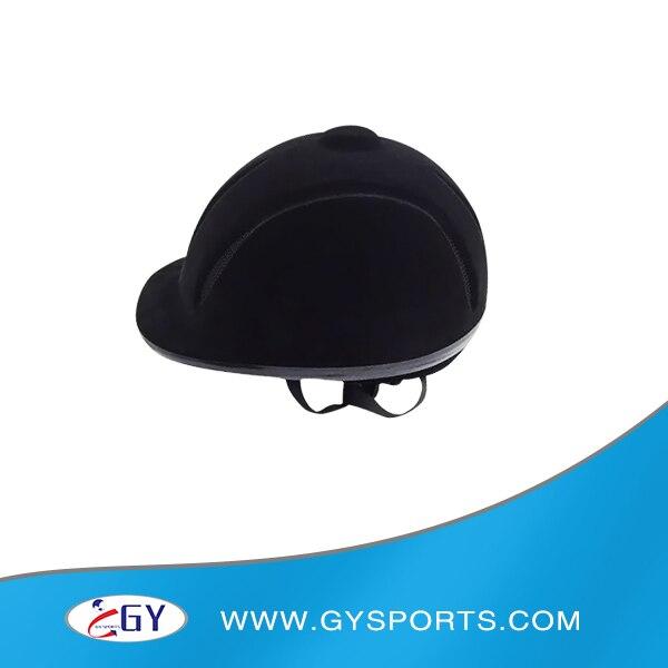Бесплатная доставка популярный дизайн стекаются ABS Материал Верховая езда шлем черный, красный Конный шлемы для продажи