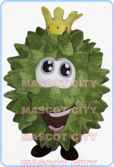 mascot Durian fruit mascot costume cartoon dragon custom anime cosplay kits mascotte fancy dress carnival costume 2540