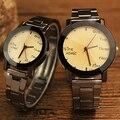 2017 HongC Amantes Reloj de Cuarzo Mujeres de Los Hombres Relojes de Pulsera Hombre Mujer Reloj Top Luxury Brand Reloj de Pulsera Relogio Feminino masculino