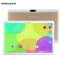 Interpad 태블릿 10.1 MTK6582 쿼드 코어 3 그램 태블릿 안드로이드 SIM