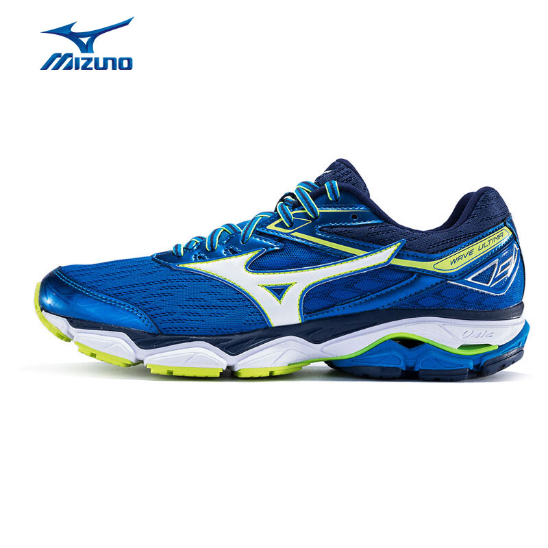 MIZUNO Men WAVE ULTIMA 9 Running Shoes Cushion Stability Sports Shoes Breathable Sneakers J1GC170902 XYP565 peak sport speed eagle v men basketball shoes cushion 3 revolve tech sneakers breathable damping wear athletic boots eur 40 50