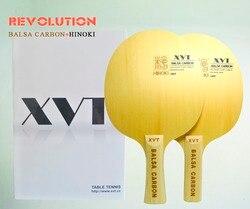 Original mais leve xvt balsa carbono raquete de tênis mesa/ténis mesa lâmina hinoki madeira + basla frete grátis
