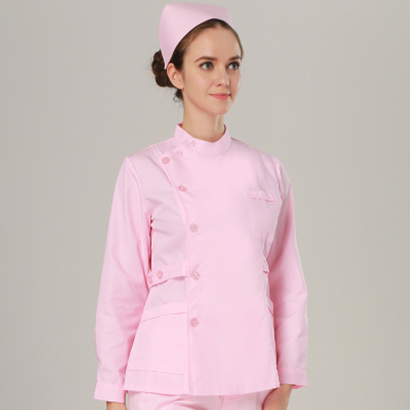 Newest Autumn winter hispital nurse work clothing beautician beauty work beauty fashion beauty overalls Service industry uniform