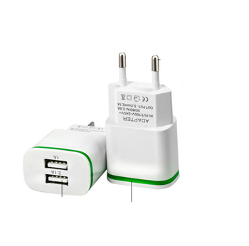 5V 2.1A Smart Travel USB Charger Adapter EU Plug Mobile Phone for Ulefone Be Pure Touch 2 3 X Paris U650 +Free usb type C cable mobile phone