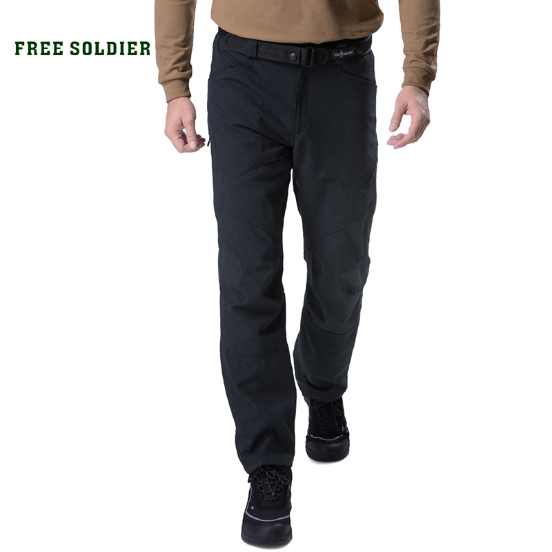 FREE SOLDIER outdoor sports camping hiking tactical military pants scratch resistant pants with multiple pockets for