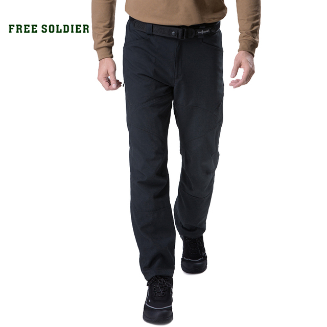 3218a03292bb FREE SOLDIER outdoor sports camping hiking tactical military pants scratch-resistant  pants with multiple pockets for men