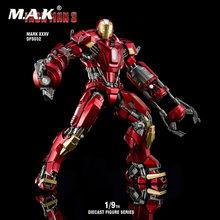 5 types 1:9 Scale Collectible Iron Man 1/9 Iron Man 3 MK35/MK43/MK45/MK46 Diecast Figure Series Action Figure blue iron man mk3 mark3 lifte size 1 1 bust statue scale tony strak recast action figure collectible boyfrien birthday gift