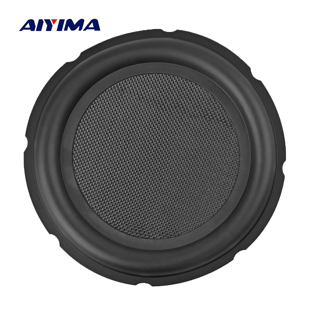 AIYIMA 8inch 10inch Bass Radiator Passive Honeycomb Rubber Vibration Plate Auxiliary Bass Membrane For 8
