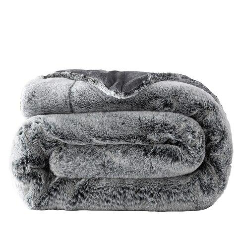 Cobertor de Pelúcia de Pele de Coelho Macio Chunky Quente Sofá Xadrez Gêmeo Tamanho Completo Cobertor Vison Lance Cadeira Cama Cobertores