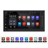 Lexxson android Quad Core 2 din car radio gps navigation Wifi+Bluetooth+Radio for Toyota Hilux Camry Corolla Prado RAV4
