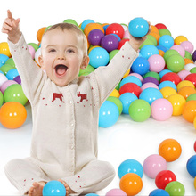parks ball Baby Playpen Baby Pool Balls Baby Playpen 100pc Eco-Friendly Soft Baby Bath Funny Swim Pool Accessories cheap 5 6CM Plastic 3 years old Solid Soft Plastic DO NOT EAT Non-toxic No smell Play this balls with tent would be very funny