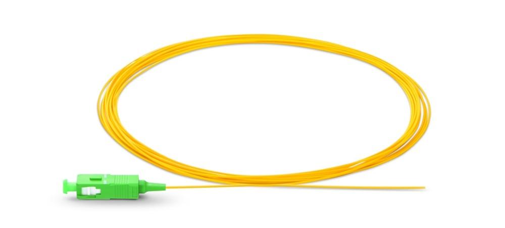 Image 3 - 1.5m SC APC fiber pigtail Simplex 9/125 G657A Single Mode  Fiber Optic FTTH Pigtail-in Fiber Optic Equipments from Cellphones & Telecommunications