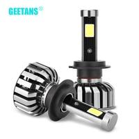 GEETANS 80W 8000LM 6000K H7 H4 HB5 HB4 9004 HB1 9007 HB5 COB LED Car Headlight