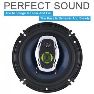 Image 4 - 1 Paar 6.5 Inch 16 Cm 600W 2 Manier Universele Auto Coaxiale Hifi Luidsprekers Auto Audio Muziek Stereo Speaker niet destructieve Installat