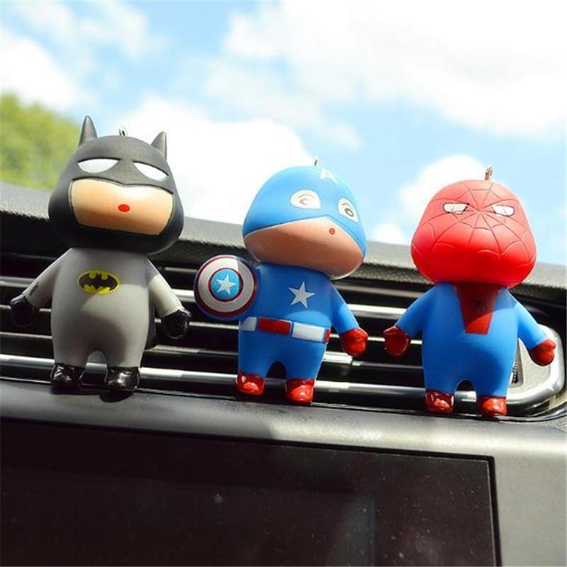 Mr Thee Nieuwste Auto Styling Marvel Stijl De Avengers Super Hero Luchtverfrisser Parfum Airconditioning Vent Geur Speelgoed Accessoires