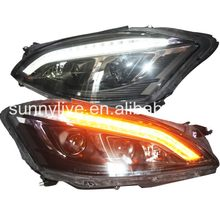For Mercedes-Benz S class W221 LED headlight fit for Original car Non AFS SN(China)