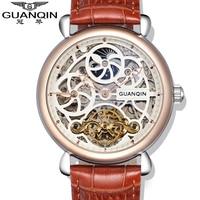 2020 NEW GUANQIN Watch Men Luxury Brand Skeleton Men Watch Luxury Automatic Mechanical Watches Boy Mechanical Wristwatches