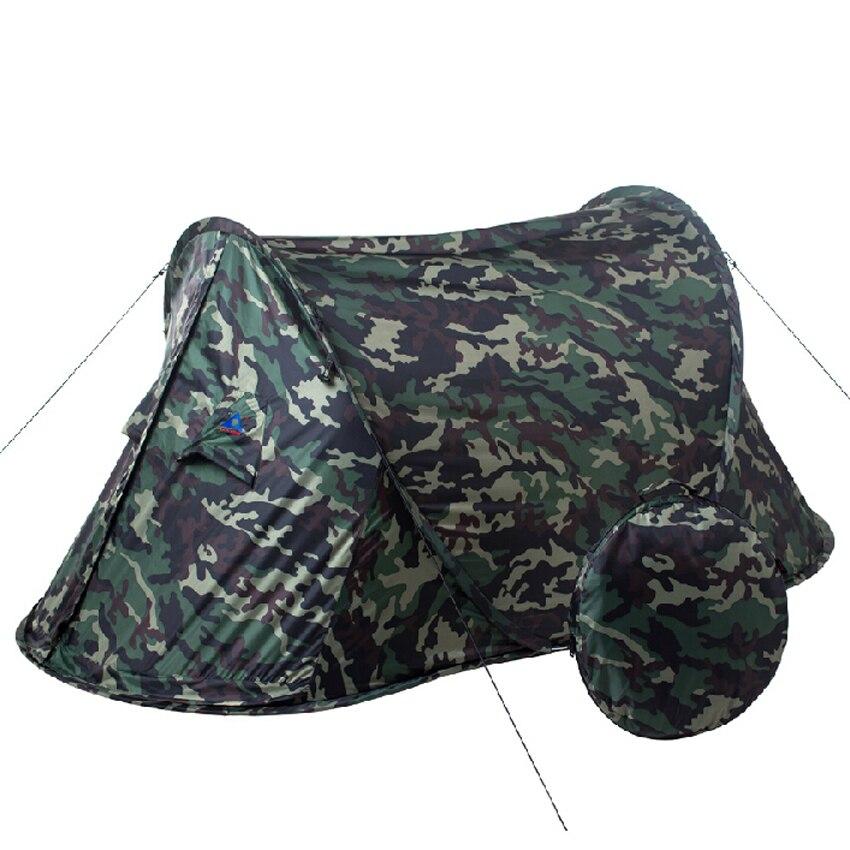 Playking Камуфляж Высокое качество автоматический одного человека Один Слои Сверхлегкий Палатка pop up легко носить с собой маленькая сумка