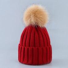 Carino Inverno Mamma Donne Capretti Del Bambino Del Crochet Del Cappello  Lavorato A Maglia Caps Della 96d1fda51dc4