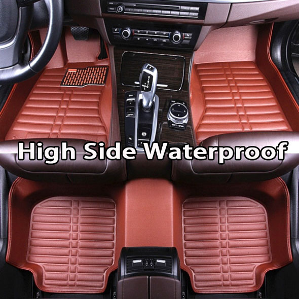 SUNNY FOX Car floor mats for Skoda Octavia Yeti Fabia Rapid spaceback 5D heavy duty car styling carpet floor linerSUNNY FOX Car floor mats for Skoda Octavia Yeti Fabia Rapid spaceback 5D heavy duty car styling carpet floor liner