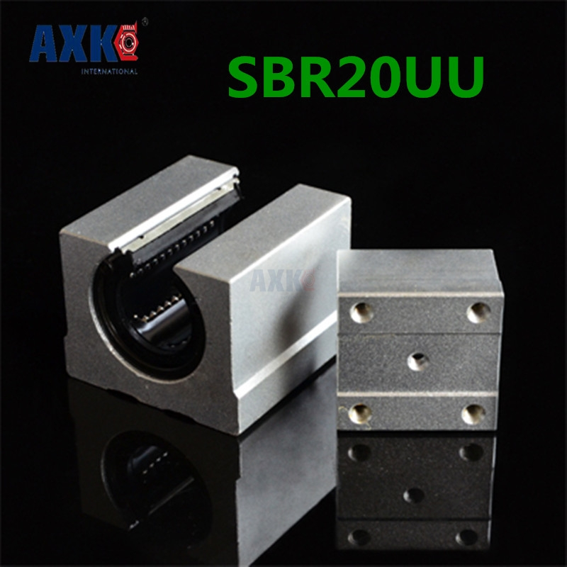 4 Pcs Sbr20uu Sbr20 Linear Bearing 20mm Open Linear Bearing Slide Block 20mm Cnc Parts Linear Slide4 Pcs Sbr20uu Sbr20 Linear Bearing 20mm Open Linear Bearing Slide Block 20mm Cnc Parts Linear Slide