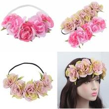 NEW Free shipping KLJH30498 50pcs /lot 2colors 50CM  Cloth Silk  flower headband Hawaii Dancer Summer Beach Party