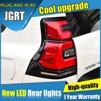 Задний габаритный фонарь автомобиля для LC150 GRJ150 задние фонари для LAND CRUISER PRADO 2018 светодиодный DRL + тормоз + Парк + поворотник светодиодный задн