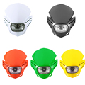 Ironwalls Multi-Color Motorcycle Headlight Fairing Kit Built-in H4 35/35W Halogen Bulb 6 Bright White LEDs For Yamaha