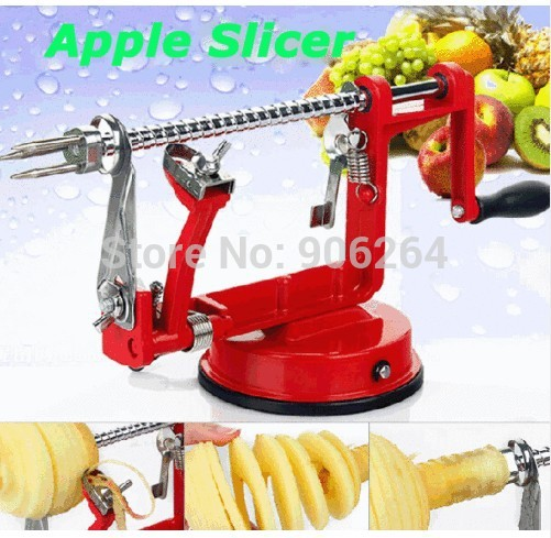 Promotion&Free Shipping 3 in 1 Apple Peeling Corer Machine Fruit Cutter Slicer Kitchen Tool Gift for Mother&Father automatic apple peeler multifunctional fruit knife cut apple peeling machine