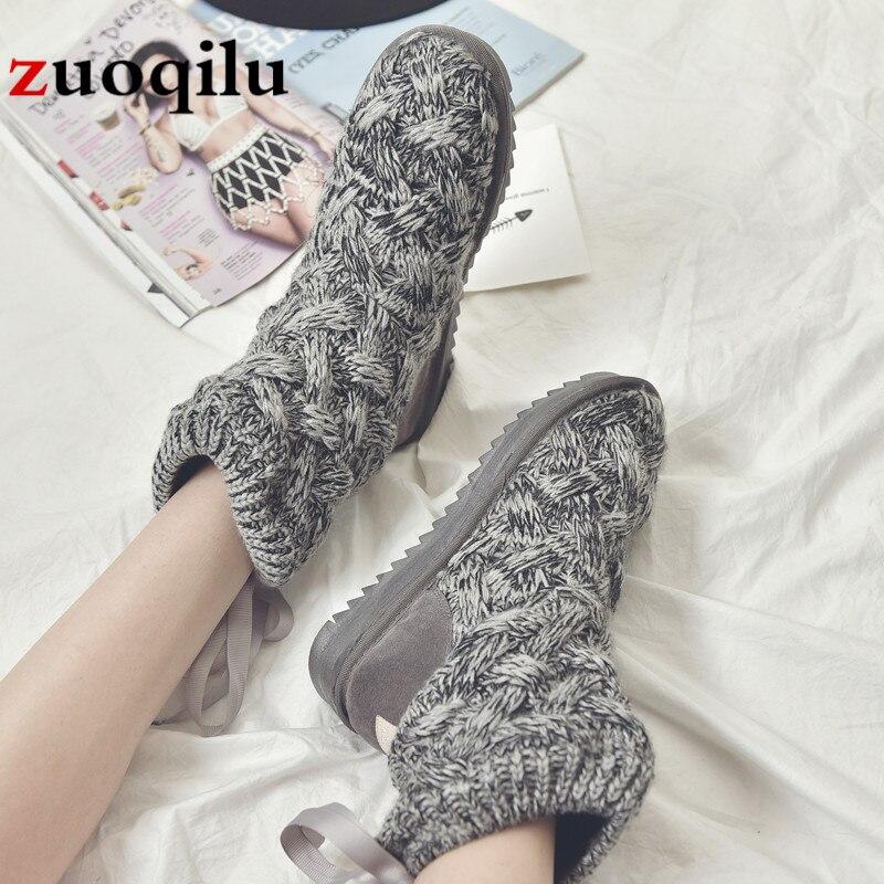 Nieve La Botas De 2018 Las Caliente Mujer Invierno Moda Mujeres Tobillo Gray Zapatos Para black PEwFqwpx