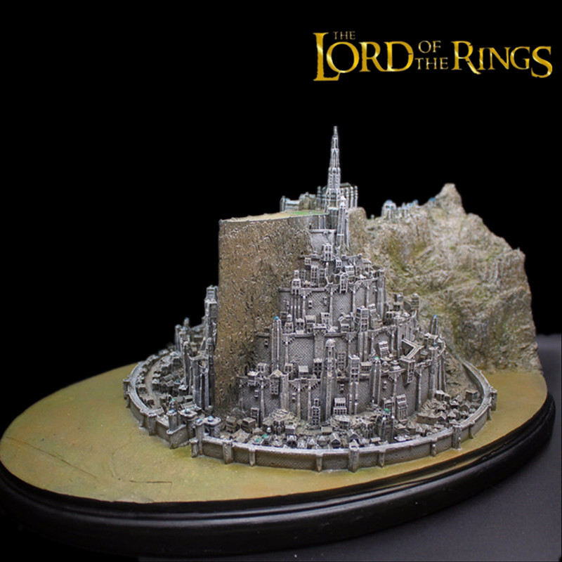 New Lord of the Rings Return of the King Minas Tirith MinasTirith Sculpture Statue Collectible jonsbo lord of the rings mod screw set red