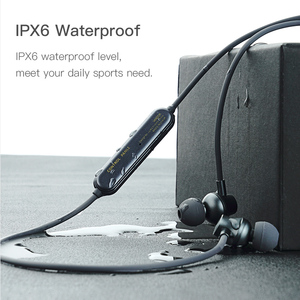 Image 2 - J2 Wireless Bluetooth 5.0 Earphone For Xiaomi iPhone Waterproof Neckband Headsets Magnetic with Mic auriculares fone de ouvido